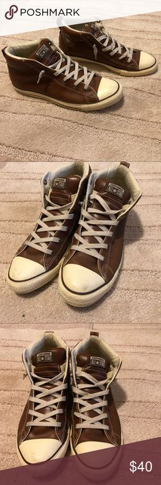 13 Best Brown leather converse images   Brown leather
