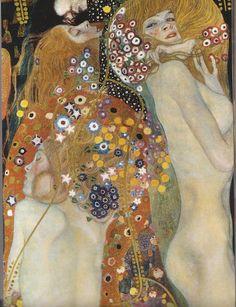 Water Snakes II (also known as Friends II) by Gustav Klimt.