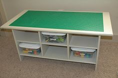Perfect for the boys room or a play room. And lots of storage too.
