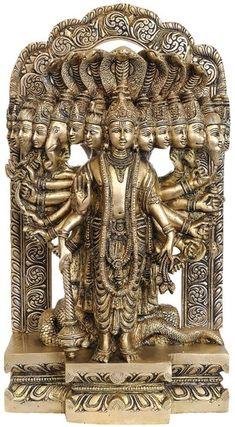 Lord Vishnu in his Cosmic Magnification - Brass Statue Tibet, Lord Shiva Family, Krishna Statue, Lord Krishna Wallpapers, Shiva Wallpaper, Tanjore Painting, Brass Statues, Lord Krishna Images, Shiva Shakti