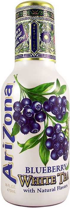 Buy Arizona Iced Tea with Blueberry, White Tea Flavour 16 FL OZ (473 ml) - from £1.99 - UK Delivery - American Soda
