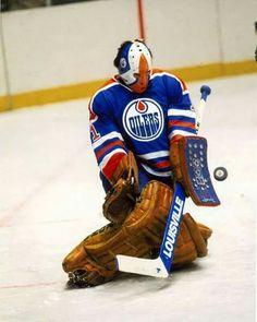 Grant Fuhr Edmonton Oilers