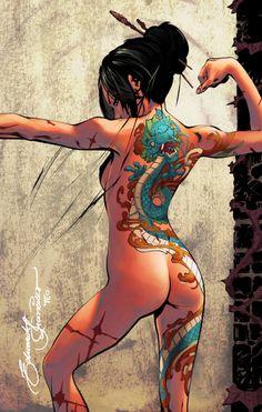 Iris's Tattoo - Concept by *eDufRancisco on deviantART