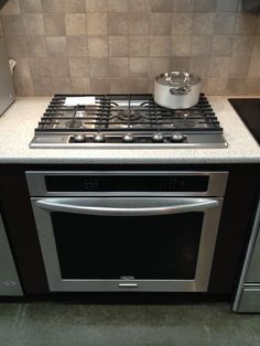 Drop In Cooktop Amp Built In Oven Perfect Decorating