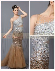 #prom #dresses made in #china #off-shoulder #tulle #evening #dress #2014 #crystal #bead #prom #dress