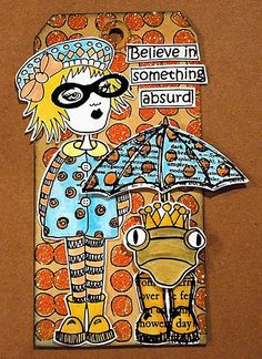 Dyan Reaveley tag art | Art Tags