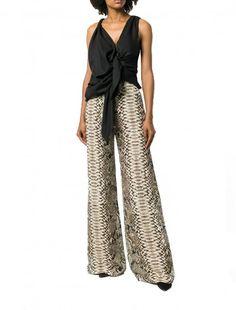Little Mix - Woman Like MeJesy Nelson's Snakeskin Trousers - Elie Saab Little Mix Style, Jesy Nelson, Perrie Edwards, Music Mix, Nicki Minaj, Elie Saab, Snake Skin, Trousers, Jumpsuit