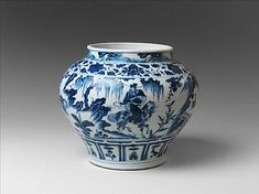 Jar with The Story of Guiguzi, 14th century, Yuan Dynasty (1271-1368), China
