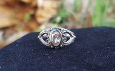 Silver & Sapphire Toe Ring by BlingThingsJewlery on Etsy