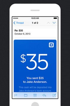 Square pinpoints email to scale mobile payments