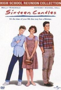 One of my faves! Sixteen Candles (1984) Poster.