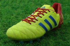 free shipping ed4ed c0d1c Adidas 11Pro TRX FG Soccer Cleats YellowBlue