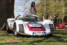Porsche 906, n281, chateau Bannegon Tour Auto 2013