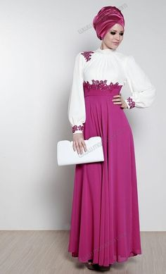 hijab fashion #fashion #hijab #abaya http://www.a3da.net/evening-dresses-veiled-2014/