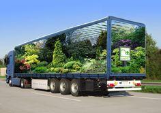 Semi truck photoshopped #FreightCenter #photoshop #marketing #Transporation