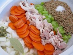 Slow Cooker Recipes: Chicken and Lentil Soup | Squawkfox