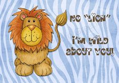Valentines Printable. School mascot is the  lion