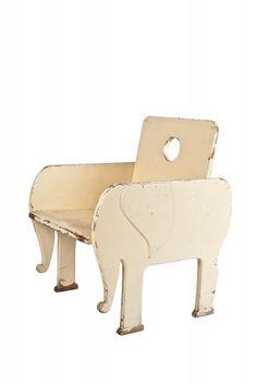 Elefant chair for kids - 30s - Czechoslovakia