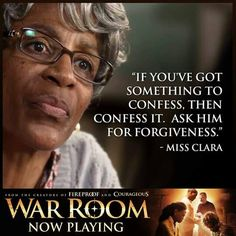 This is a deep one for me today.  Confess and ask Him for forgiveness #Amen  #WarRoom