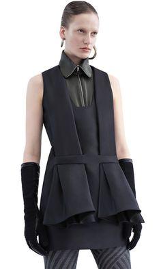 Bahr cinched waist dress #AcneStudios #PF15