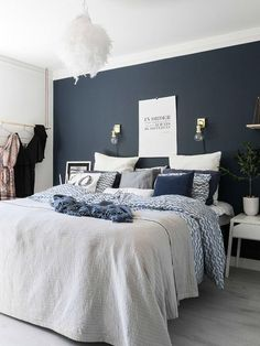 This is a Bedroom Interior Design Ideas. House is a private bedroom and is usually hidden from our guests. Much of our bedroom … Modern Master Bedroom, Trendy Bedroom, Cozy Bedroom, Home Decor Bedroom, Bedroom Classic, Bedroom Ideas, Master Suite, Classic Interior, Bedroom Bed