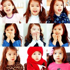 Ulzzang Baby Lauren's hair and style :-)