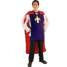 This would be somewhat easy to make for Jack's prince costume (white shirt, brown pants, make the purple overlay, and make the red cape)