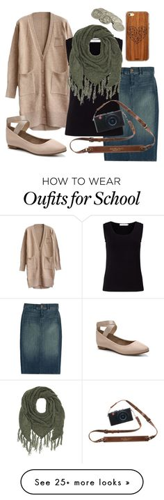 """School Yearbook"" by imaonegodapostolic on Polyvore featuring J Brand, Toast, John Lewis, Charlotte Russe and Audrey Brooke"