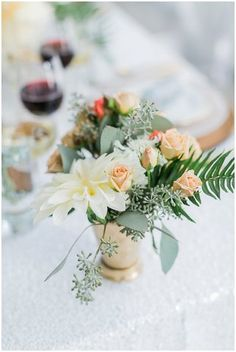 Dreamy Flowers | Alexis June Weddings | see more at http://fabyoubliss.com
