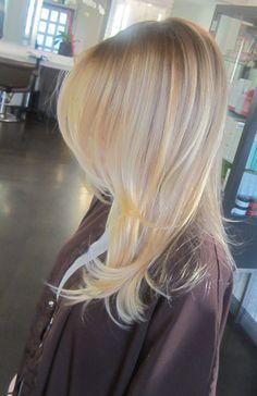California blonde highlights