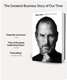 Steve Jobs by Walter Isaacson  A fascinating tale and a brilliant read whether you enjoy tech & corporate leadership or not