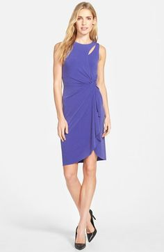 Catherine Catherine Malandrino 'Georgia' Faux Wrap Jersey Dress available at #Nordstrom