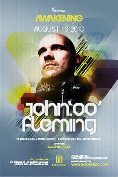 Awakening w/ John Fleming @ Exchange ~on~ August 16 Orange County, Awakening, Movie Posters, Film Poster, Billboard, Film Posters