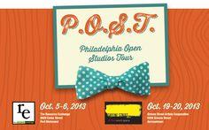 Philadelphia Open Studios Tour - Oct 5&6 and Oct 19&20.