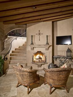 cozy patio for two....