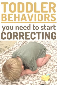 Examples of Toddler Behaviors that need your attention and correction. Don't keep ignoring behaviors thinking they'll go away! Instead, start correcting them with teaching and thoughtful discipline! Including How to make a plan that works for your family! #toddler #toddlerdiscipline #discipline #baby #tantrums #terribletwos #momlife #mom #momhacks Toddler Behavior, Toddler Age, Toddler Discipline, Terrible Twos, Make A Plan, Behavior Management, Raising Kids, Parenting, Teaching