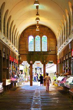 Mercado. Saint-Jacques de Compostelle