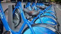 Mit dem Rad durch New York Station für Mietfahrräder