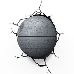 Star Wars Death Star 3D Night Light @ niftywarehouse.com #NiftyWarehouse #Geek #Products #StarWars #Movies #Film