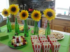 After a long time in the waiting, today was party day! All week, we cleaned and prepared for the Plants vs Zombies Extravaganza!  The house was decorated, the food was prepared, the cake was made, ...