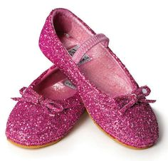 Pinkle Toes Glitter Dress Up Shoes, $22.99