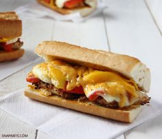 Sweet chicken sandwich