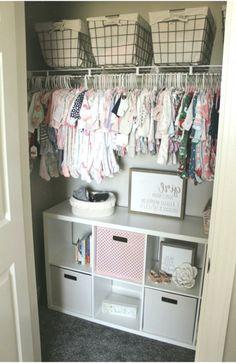 Kinley's Floral Farmhouse Nursery - The Holtz House - Best Baby Girl Nursery ideas Baby Bedroom, Baby Room Decor, Nursery Room, Girl Nursery, Girl Room, Apartment Nursery, Nursery Layout, Bedroom Decor, Baby Dekor