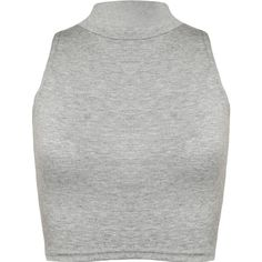 Sophie Turtle Neck Crop Top ($11) ❤ liked on Polyvore featuring tops, crop top, shirts, tank tops, grey, gray crop top, gray top, grey turtleneck, grey shirt and turtleneck top