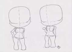 ... Chibi Manga Tutorial: Female Pose 03 by FutagoFude-2insROID on . ...