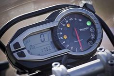 Triumph Tiger Explorer - this bike has an amazing array of electronics. This thing could send a rocket to the moon!