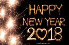 2018 Happy New Year Romantic Wallpaper