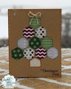Christmas Paper Crafts, Homemade Christmas Cards, Christmas Cards To Make, Xmas Cards, Homemade Cards, Handmade Christmas, Simple Christmas, Christmas Wishes, Merry Christmas