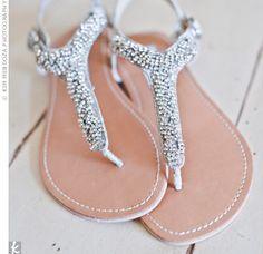 Rhinestone Bridal Sandals