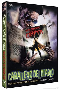 Historias de la Cripta: Caballero del Diablo DVD 1995 Tales from the Crypt Presents Demon Knight